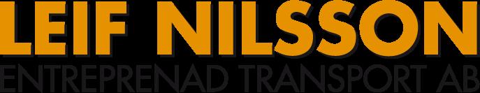 Leif Nilsson Entreprenad och Transport AB